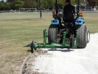 BALL DIAMOND EDGER